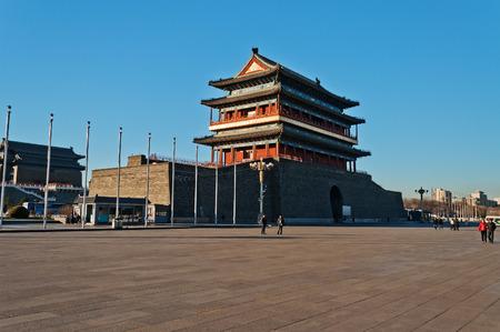 gatehouse: The Zhengyangmen Gatehouse  Qianmen   Beinjing  China