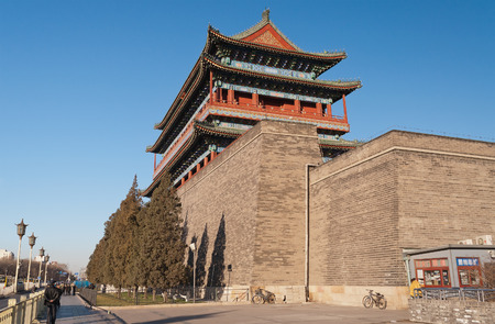gatehouse: The Zhengyangmen Gatehouse  Qianmen   Beinjing  China