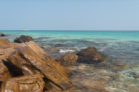 rin: Beach on the desert island Koh Rin.  Pattaya. Thailand