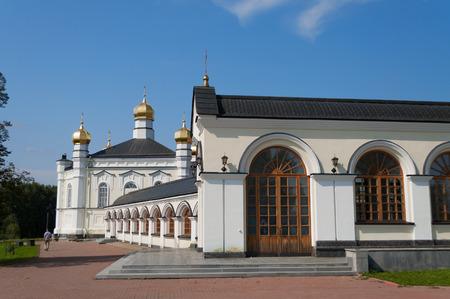 righteous: Temple of Righteous Simeon located in village Merkushino. Verkhoturye. Sverdlovsk region. Russia.