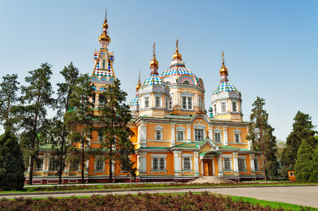 Ascension Cathedral is a Russian Orthodox cathedral located in Panfilov Park in Almaty, Kazakhstan