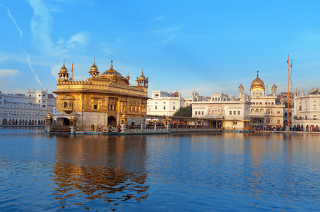 Golden Temple (Harmandir Sahib also Darbar Sahib) in Amritsar. Punjab. India
