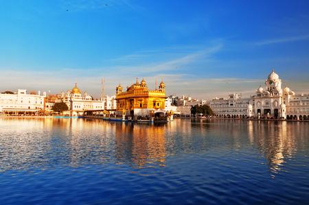 Golden Temple (Harmandir Sahib also Darbar Sahib) in Amritsar. Punjab. India