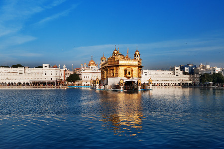 harmandir sahib: Golden Temple (Harmandir Sahib also Darbar Sahib) in Amritsar. Punjab. India