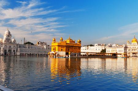 darbar: Golden Temple (Harmandir Sahib anche Darbar Sahib) in Amritsar. Punjab. India Archivio Fotografico