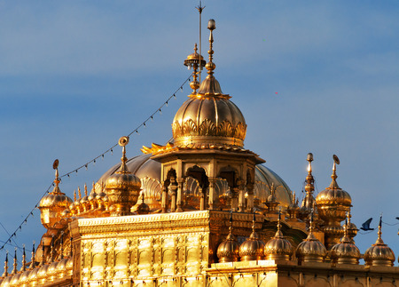 harmandir sahib: Roof of Golden Temple (Harmandir Sahib also Darbar Sahib) in Amritsar. Punjab. India