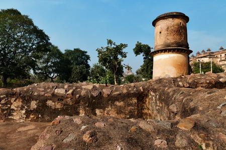madhya: Dauji Ki Kothi in Orchha. Madhya Pradesh. India. Stock Photo