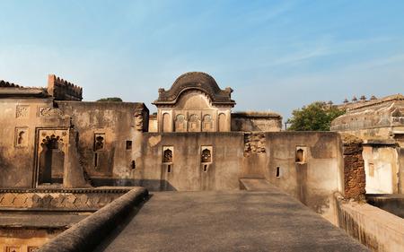madhya pradesh: Dauji Ki Kothi in Orchha. Madhya Pradesh. India. Stock Photo