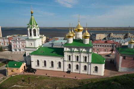 precursor: View of Church of the Nativity of John the Precursor in Nizhny Novgorod. Russia