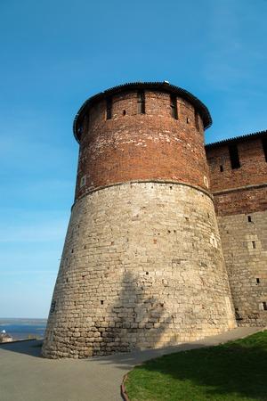 yoke: Yoke Tower in Nizhny Novgorod Kremlin. Russia