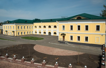 arsenal: Nizhny Novgorod, Russia - May 2, 2015: Arsenal building in Nizhny Novgorod Kremlin. Arsenal is one of the biggest constructions of  Kremlin Editorial