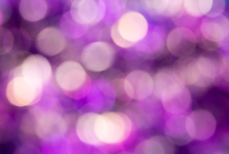 Lilac Purple bokeh. Christmas background texture