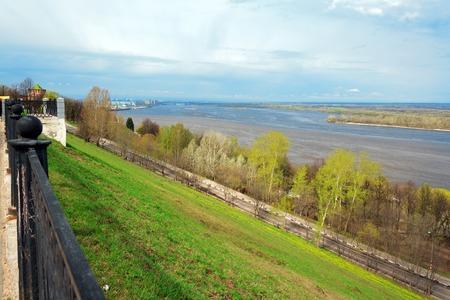 embankment: Upper Volga embankment. Nizhny Novgorod. Russia