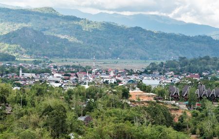 toraja: View of Rantepao. Tana Toraja, Sulawesi. Indonesia