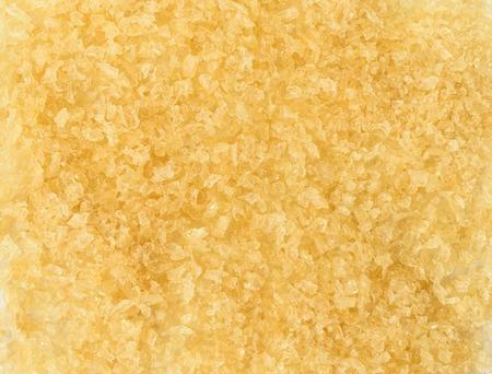 gelatina: gr�nulos de gelatina amarillas cristales. fondo de la textura