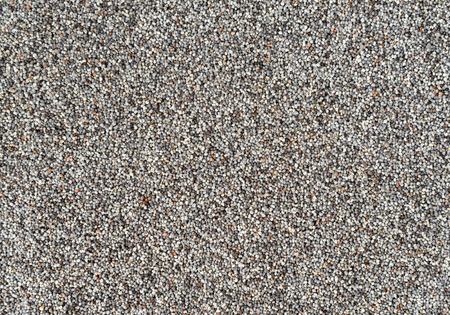 opiate: Poppy seeds.  Close up background texture Stock Photo