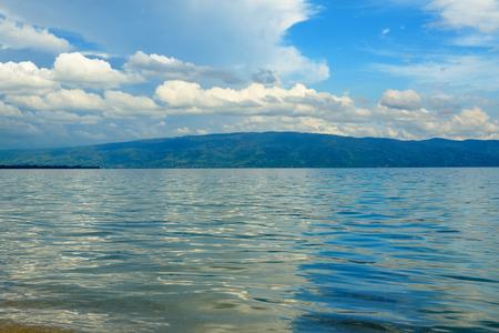 sulawesi: Poso lake. Central Sulawesi. Indonesia