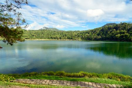 sulawesi: Linau lake in Tomohon. North Sulawesi. Indonesia Stock Photo