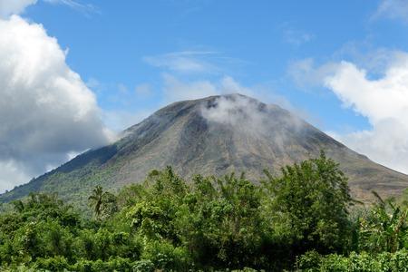sulawesi: Mount Lokon in Tomohon. North Sulawesi. Indonesia