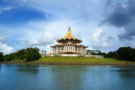 Sarawak State Legislative Assembly (Dewan Undangan Negeri)Kuching. Sarawak. Malaysia. Borneo Stok Fotoğraf