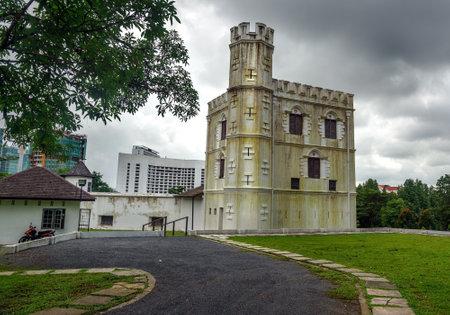 margherita: Fort Margherita in Kuching. Sarawak Malaysia Borneo