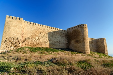 dagestan: Wall in Naryn-Kala fortress. Derbent. Republic of Dagestan, Russia