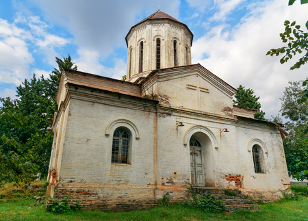 Old Albanian church in Qakh. In the north of Azerbaijan
