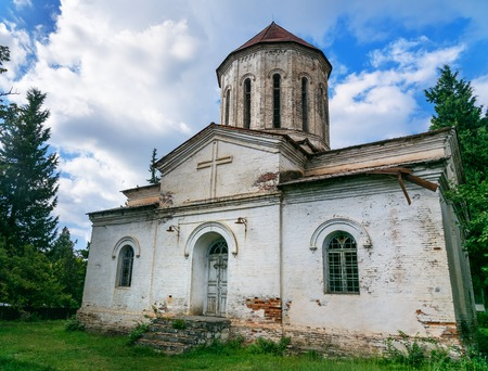 Old Albanian Church In Qakh. In The North Of Azerbaijan Stock Photo, Picture And Royalty Free Image. Image 73865447.