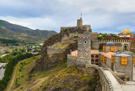 renovated: Rabati Castle complex in Akhaltsikhe, Georgia