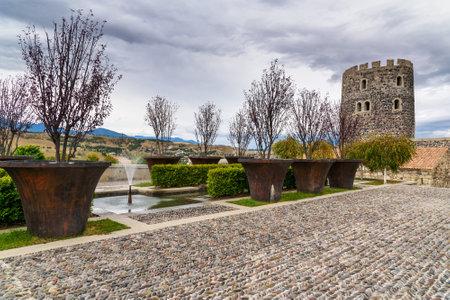dome of the rock: Rabati Castle complex in Akhaltsikhe, Georgia