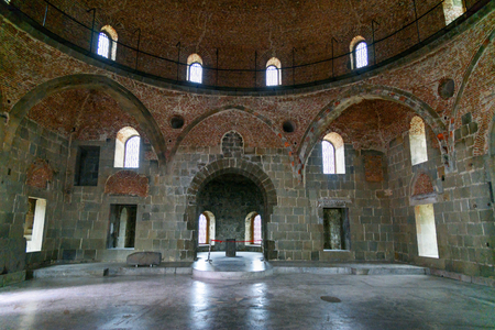 september 9th: Akhaltsikhe, Georgia - September 29, 2016: Inside of Mosque in Rabati Castle complex. Built in the 9th century