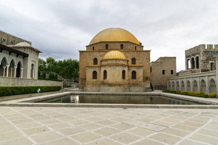 Akhaltsikhe, Georgia - September 29, 2016: Mosque in Rabati Castle complex. Built in the 9th century
