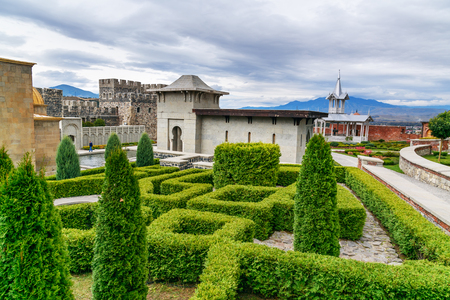 september 9th: Akhaltsikhe, Georgia - September 29, 2016: Rabati Castle complex. Built in the 9th century Editorial