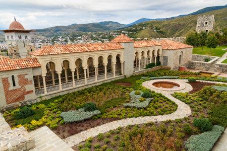 september 9th: Akhaltsikhe, Georgia - September 29, 2016: View on the garden in Rabati Castle complex. Built in the 9th century