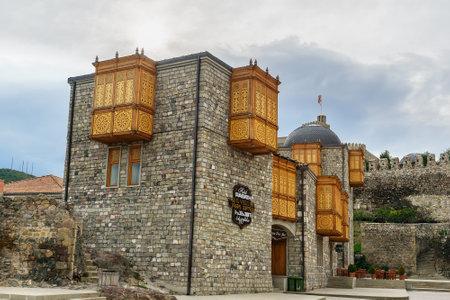 Akhaltsikhe, Georgia - September 29, 2016: Hotel Rabath in Rabati Castle complex Editorial