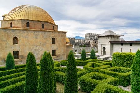 Mosque in Rabati Castle complex in Akhaltsikhe, Georgia Stock Photo