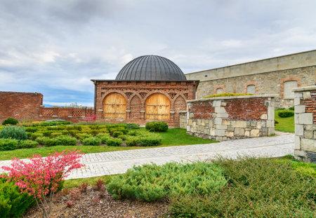 Akhaltsikhe, Georgia - September 29, 2016: Rabati Castle complex. Built in the 9th century Editorial