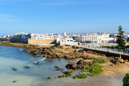View of Essaouira old city. Morocco Stock Photo