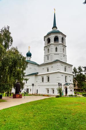 Church of Our Saviour. The church was built in 1706-1710. Irkutsk. Russia Stock Photo