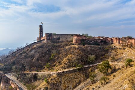 Jaigarh Fort in Amer. Jaipur. Rajasthan India