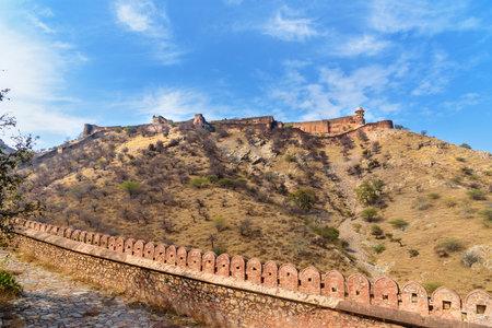 Jaigarh Fort in Amber. Jaipur Rajasthan. India