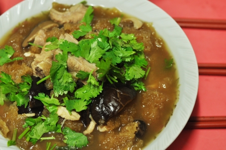 maw: Chinese cuisine  fish maw soup