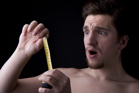Image of a man who looks at roulette Stock Photo - 4204234