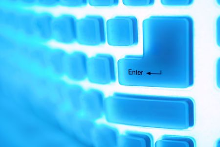 Abstract image of a computer key enter Stock Photo - 6011468