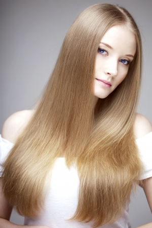 The image of a woman with luxurious hair Stock Photo - 9039476
