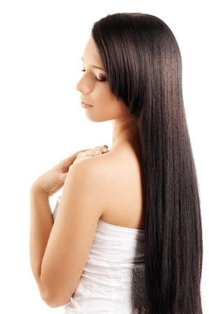 The image of a woman with a luxurious, shiny and beautiful hair Stock Photo - 9038445