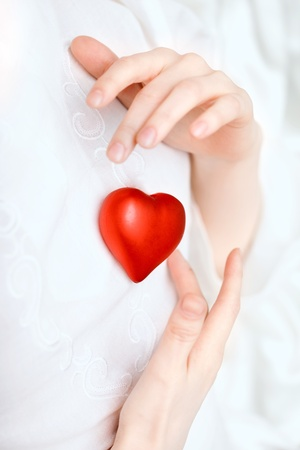 Image of hands store heart Stock Photo - 10704971