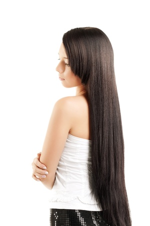 Image of gorgeous girls with beautiful hair Stock Photo - 10705058