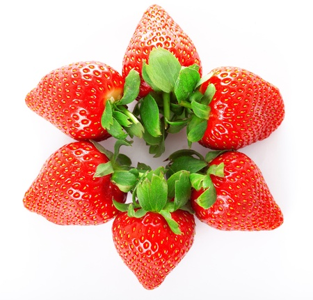 Image of a bright juicy fresh strawberries Stock Photo - 10705140