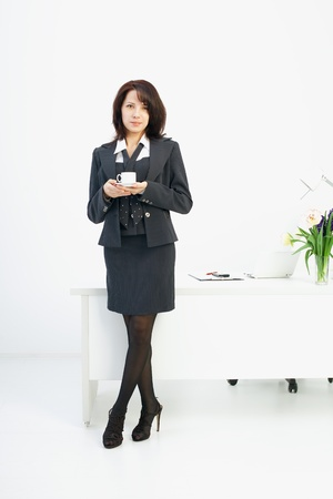 Image of business woman in the workplace Stock Photo - 10705246